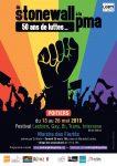Affiche Festival Lesbien, Gay, Bi, Trans, Intersexe du Poitou 2019