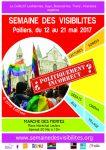 Affiche Semaine des visibilités de Poitiers 2017